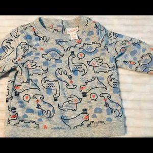 5/$20 3-6 month Cat & Jack grey crew sweatshirt